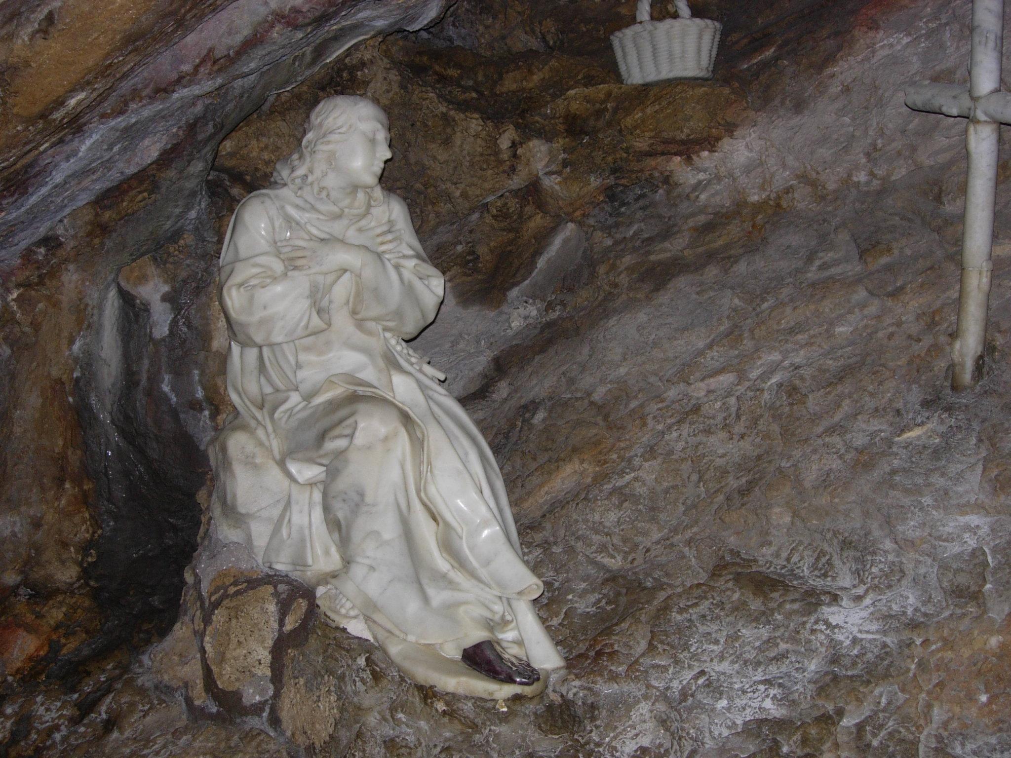 San Benito Abad, gruta de Subiaco