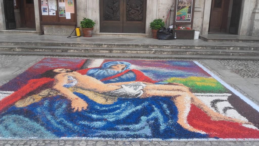 Nfioràta a Subbjàcu- Piazza S Andrea 18-6-2017